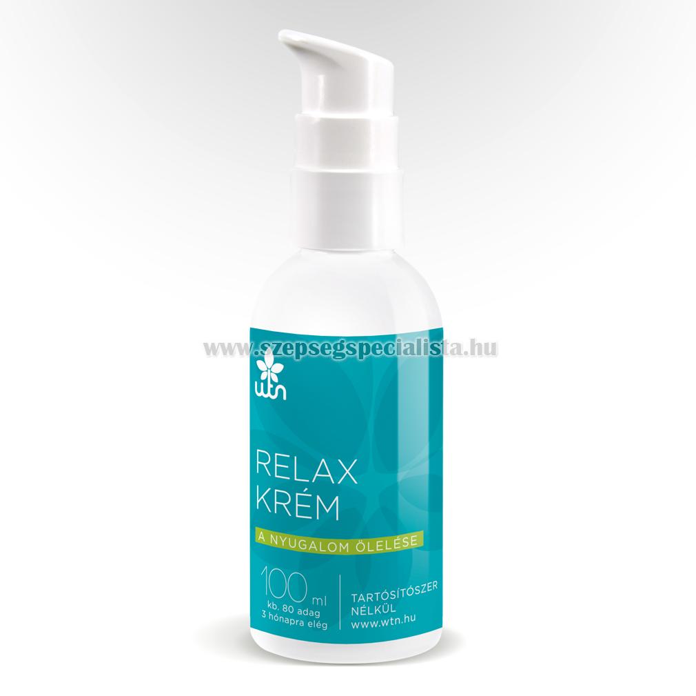 Relax krém - a stressz csökkentésére
