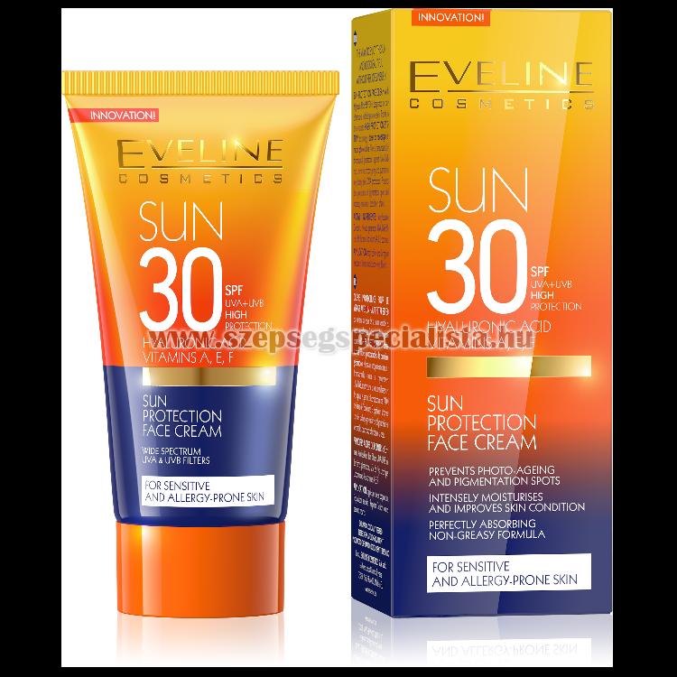 EVELINE SUN CARE EXPERT napvédő arckrém SPF30