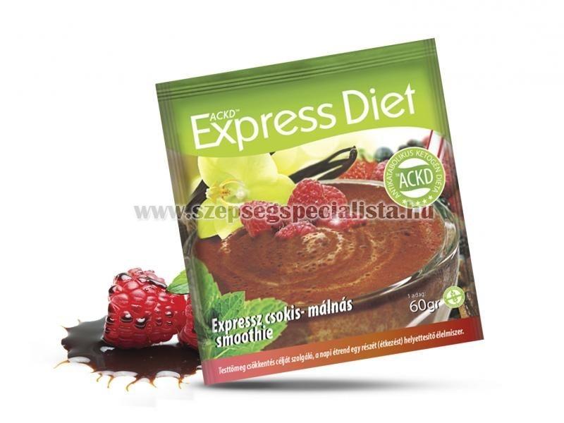 Natur Tanya® Expressz Diéta - Krémes csokis-málnás csábítás. Zsírégető Antikatabolikus ketogén smoothie.
